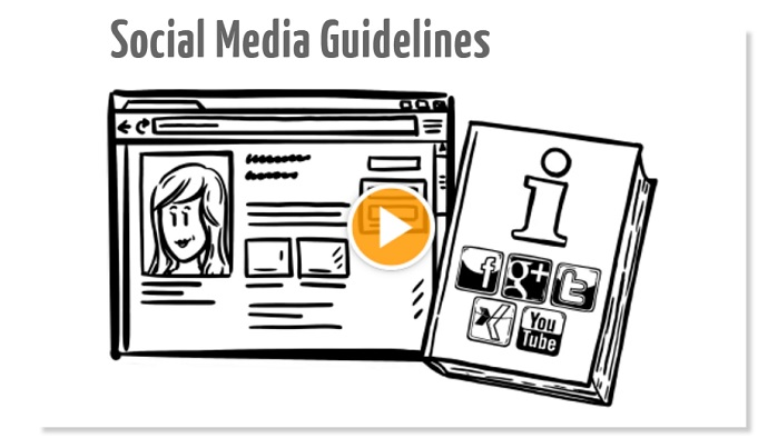 Social Media Guidelines Erklärvideo