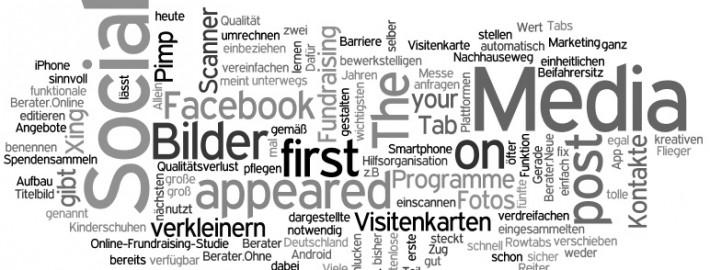 Wordle Stichwortwolke