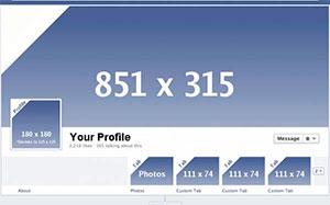 Facebook Titelbild Maße