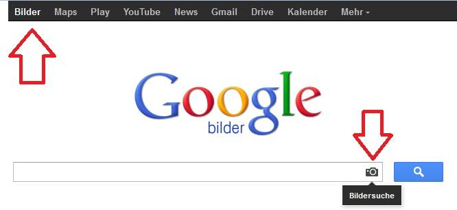 Google Bildersuche im Internet