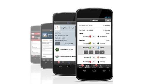Mobile App Tippspiel