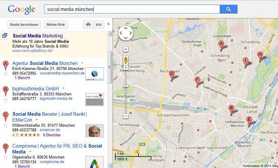 das alte Google Maps