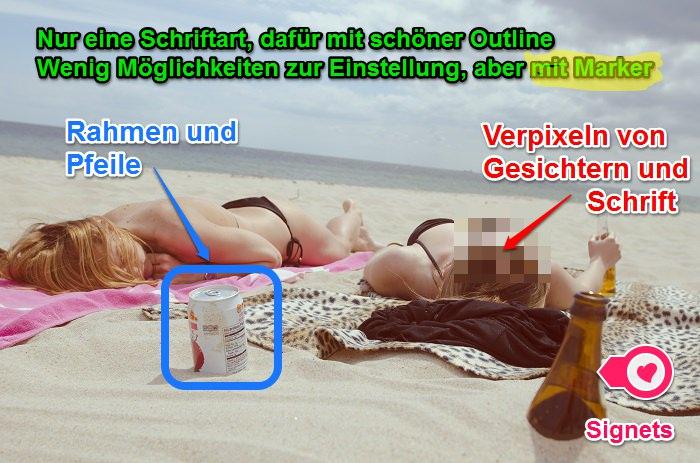 Helferlein Skitch von Evernote zur Bildbearbeitung