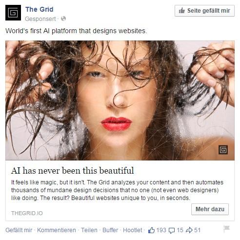 Aktuelles Facebook Feature: Facebook Ads