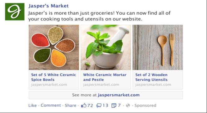 Aktuelle Facebook Feature: Multi-Product Ads