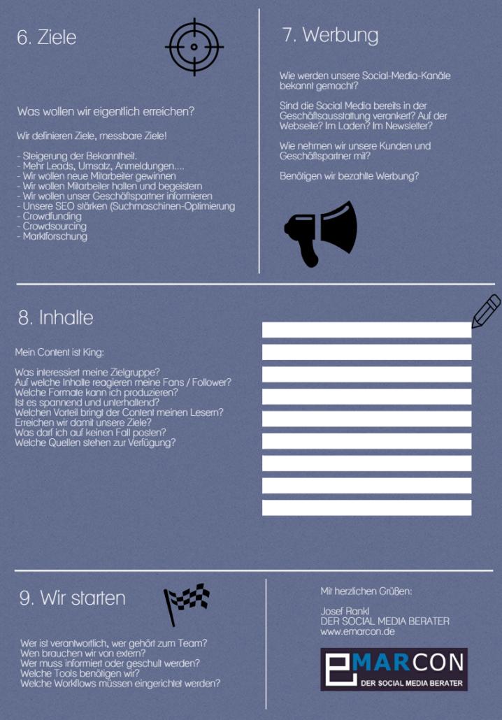 Social Media Strategie erstellen Teil 2