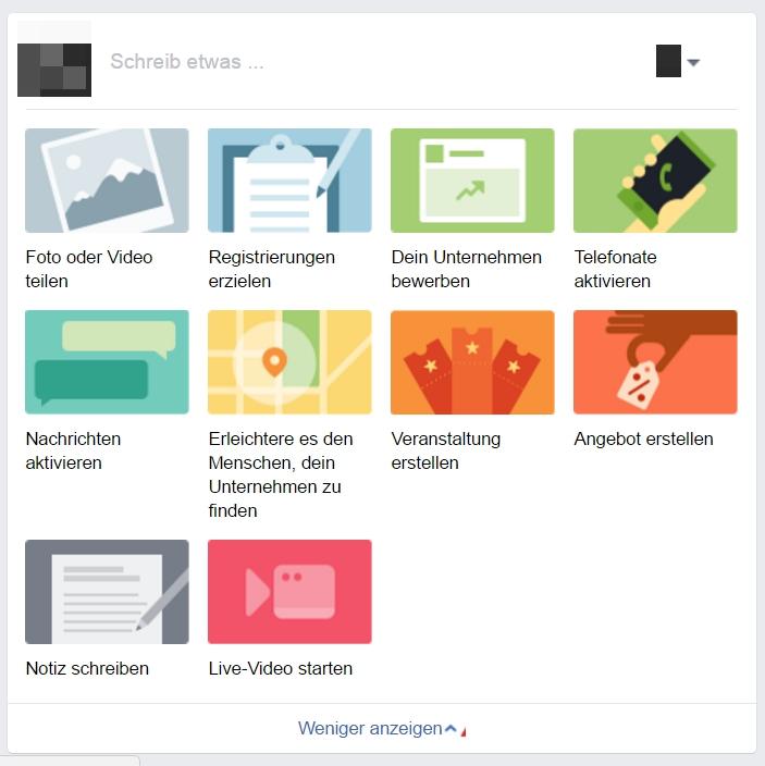 Neuer Facebook Publisher