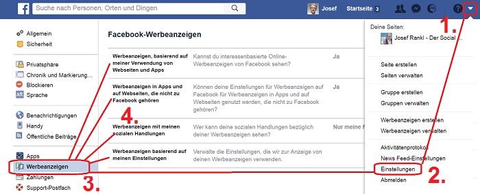 Was Facebook über Sie weiß