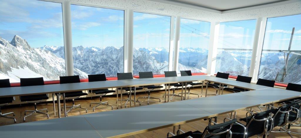 Social Media Seminar Raum Gletscherstube im Schneefernerhaus