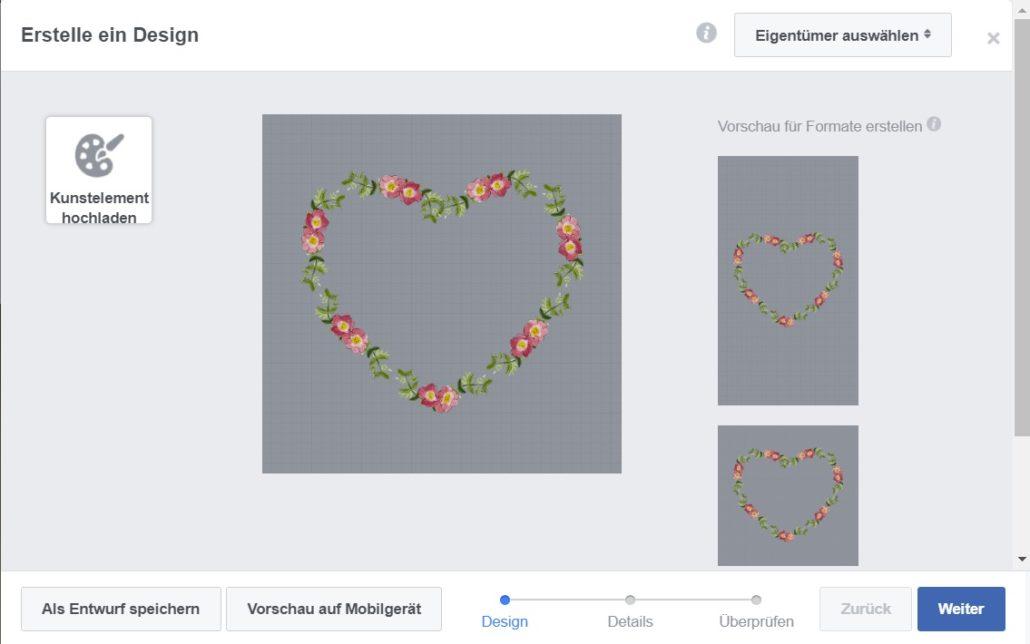 Facebook Profilbild Rahmen Desing